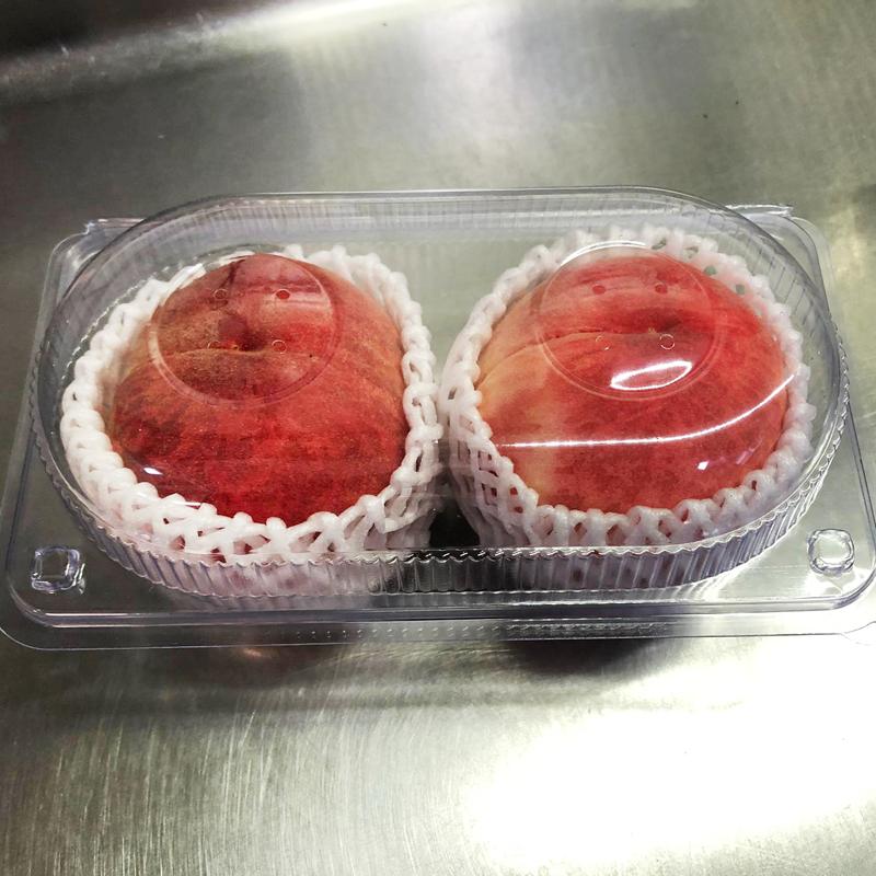 日本山梨白桃(兩個裝)